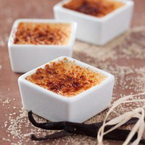 Crème Brûlée de baunilha