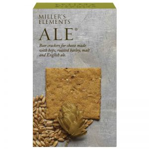 Crackers Ale de Cerveja Millers Elements Artisan Biscuits 100g