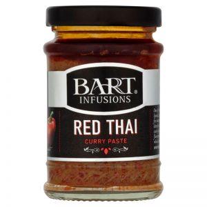 Pasta de Caril Vermelho Bart Spices 90g