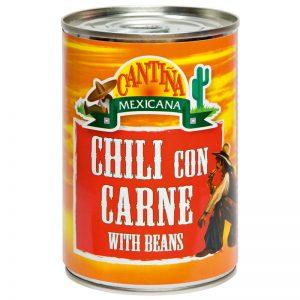 Chilli com Carne e Feijões Cantina Mexicana 400g