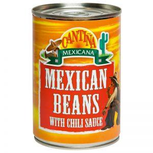 Feijão Mexicano com Molho de Chili Cantina Mexicana 410g