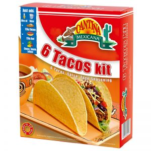 Kit Tacos (6un) Cantina Mexicana 195g