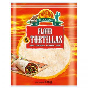 Tortilhas de Trigo (8un) Cantina Mexicana 340g