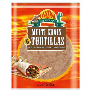 Tortilhas Multicereais (6un) Cantina Mexicana 240g