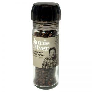 Moinho de Pimenta Preta de Telicherry Jamie Oliver 50g