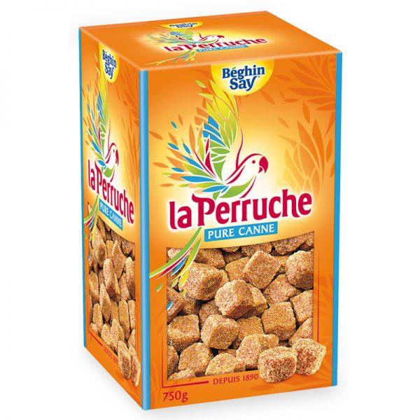 Açúcar de Cana Mascavado em Cubos Irregulares La Perruche 750g