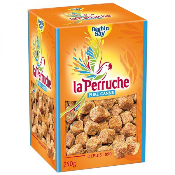 Açúcar de Cana Mascavado em Cubos Irregulares La Perruche 250g