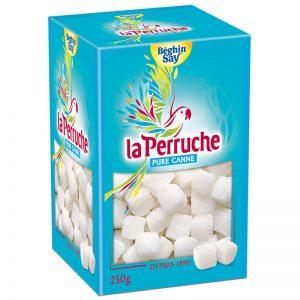 Açúcar de Cana Branco em Cubos Irregulares La Perruche 250g