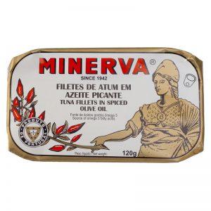 Atum em Azeite Picante Minerva 120g