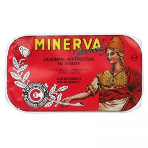 Sardinhas em Tomate Minerva 120g