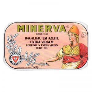 Bacalhau em Azeite Virgem Extra Minerva 120g