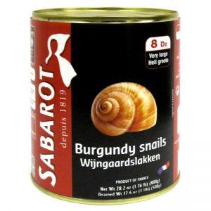 Sabarot Burgundy Snails 800g