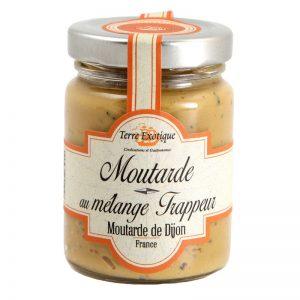 "Mostarda de Dijon com Mistura ""Trappeur"" Terre Exotique 100g"