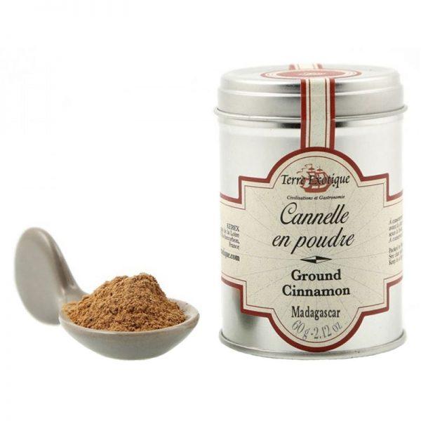 Terre Exotique Ground Ceylon Cinnamon 60g
