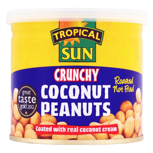 Tropical Sun Coconut Peanuts 165g