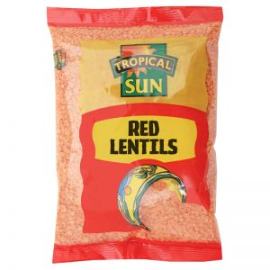 Tropical Sun Red Lentils 500g