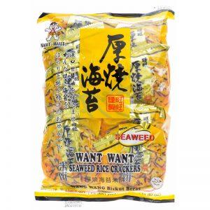 Crackers Arroz com Algas Want Want 160g