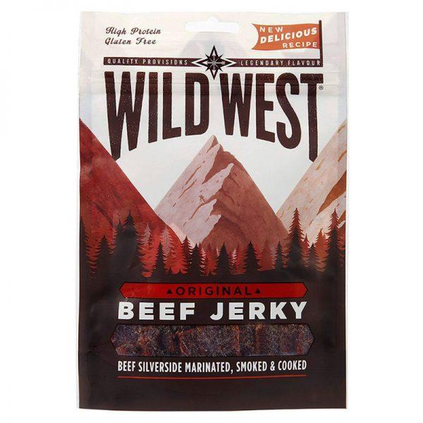 Beef Jerky Original Wild West 25g