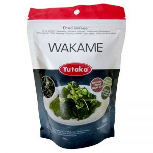 Algas Secas Wakame Yutaka 40g