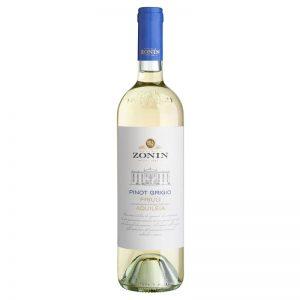Vinho Branco Pinot Grigio Friuli Aquileia DOC Zonin 750ml