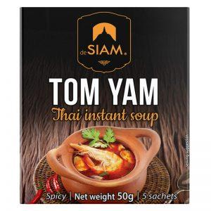 Sopa Instantânea Tom Yam deSIAM 50g