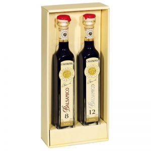 Condimento Balsâmico Gift Box 8/12 Anos Casanova 200ml