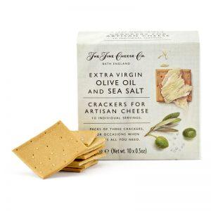 Crackers Azeite Sal Marinho Monoporção The Fine Cheese Co. 150g
