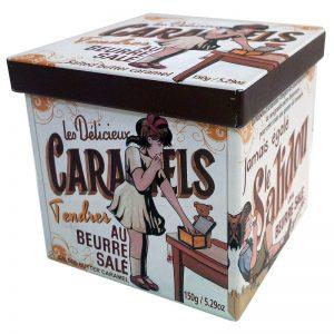 Caramelos da Bretanha em Lata Quadrada La Maison Armorine 150g