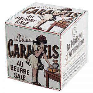 Caramelos da Bretanha em Caixa de Cartão La Maison Armorine 50g