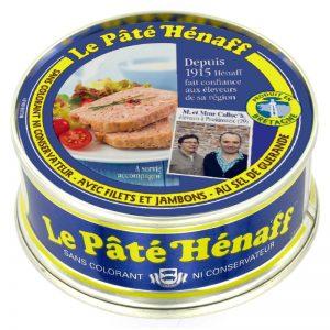 Paté de Porco com Sal de Guérande Hénaff 78g