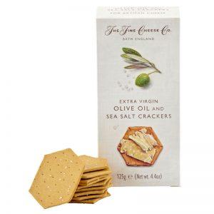 Crackers com Azeite e Sal Marinho The Fine Cheese Co. 125g