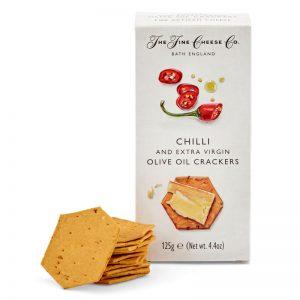 Crackers com Chilli Vermelho Picante The Fine Cheese Co. 125g