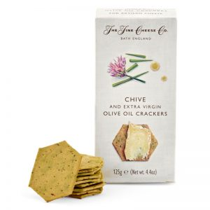 Crackers com Cebolinho The Fine Cheese Co. 125g