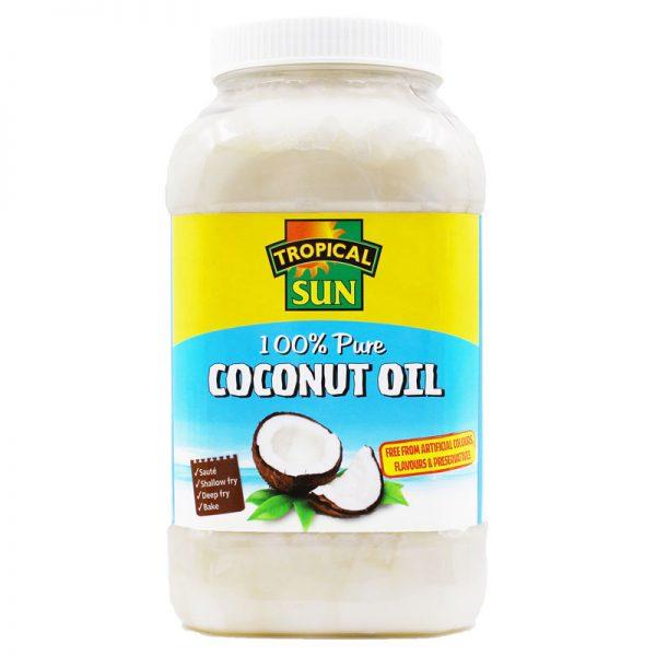 Óleo de Coco 100% Puro Tropical Sun 1000ml