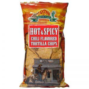 Chips de Tortilha com Chilli Picante Cantina Mexicana 200g