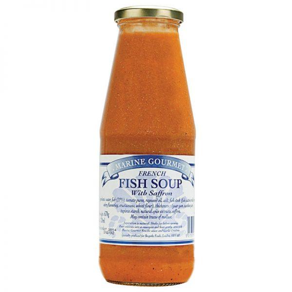 Sopa de Peixe com Açafrão Marine Gourmet 720ml