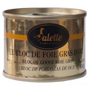 Bloco de Foie Gras de Ganso Valette 65g