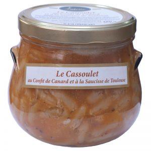 Cassoulet com Confit de Pato e Salsicha de Toulouse Valette 780g