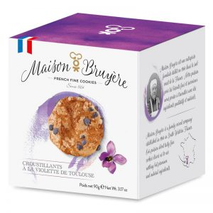 Bolachas Estaladiças de Violeta de Toulouse Maison Bruyère 90g