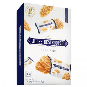 Mini Crisps e Waffles de Manteiga Jules Destrooper 126g