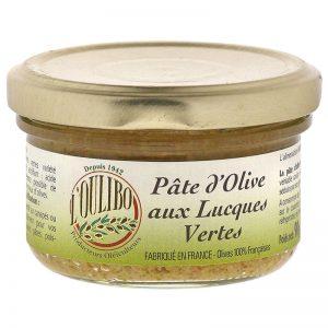 Paté de Azeitona Verde Lucques L'Oulibo 90g