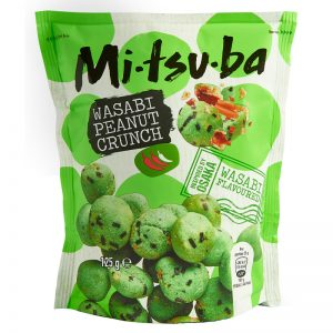 Snack de Amendoins com Wasabi Mitsuba 125g