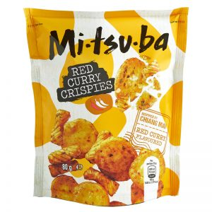 Mitsuba Red Curry Crispies 80g
