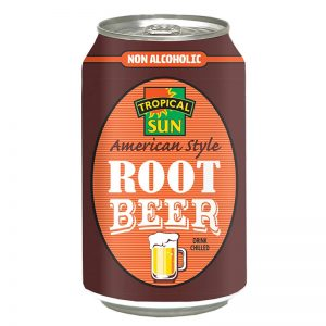 Refrigerante Root Beer Tropical Sun 330ml