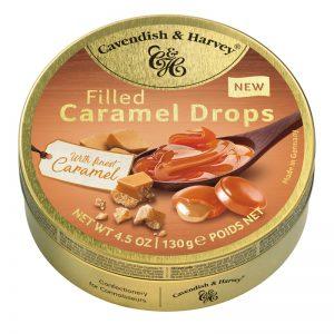 Rebuçados de Caramelo com Recheio em Lata Cavendish & Harvey 130g