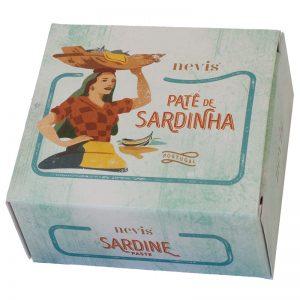 Paté de Sardinha Nevis 65g