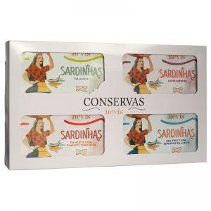 Conjunto Nº4 - Conservas Tradição Nevis 4x120g