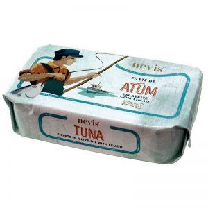 Filete de Atum em Azeite com Limão Nevis 120g