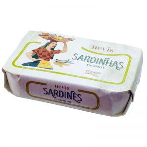 Sardinhas em Azeite Nevis 120g