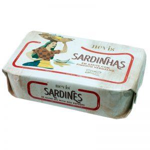 Sardinhas com Pimentos em Azeite Nevis 120g